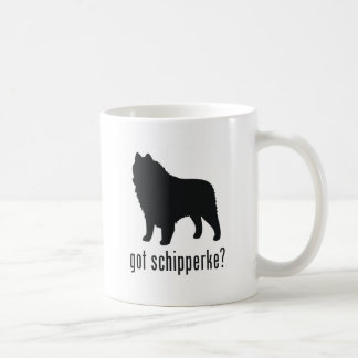 Schipperke Classic White Coffee Mug