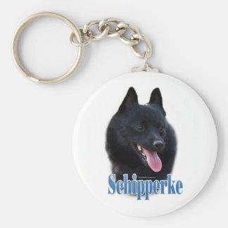 Schipperke Name Key Chains