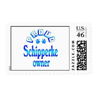 Schipperke Owner Postage Stamp