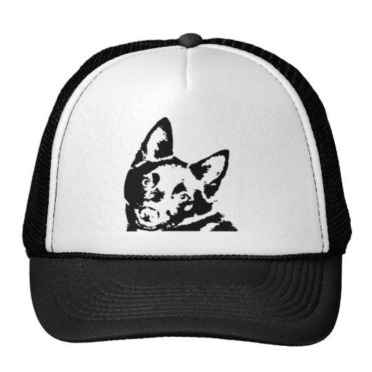 Schipperke Picture Trucker Hat