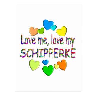 SCHIPPERKE POSTCARD