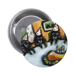 Schipperke summer birthday party pins