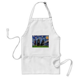 Schipperkees (two,5&6) - Starry Night Adult Apron
