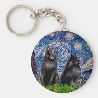 Schipperkees (two,5&6) - Starry Night Keychain