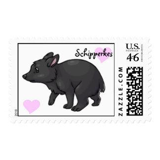 Schipperkes Stamps