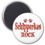 Schipperkes Rock Magnet