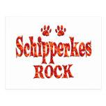 Schipperkes Rock Post Cards