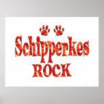Schipperkes Rock Poster