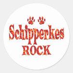 Schipperkes Rock Stickers