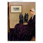 Schipperkes (two) - Whsitlers Mother Card