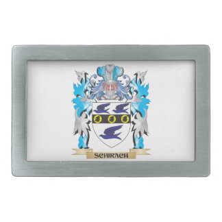 Schirach Coat of Arms - Family Crest Belt Buckles