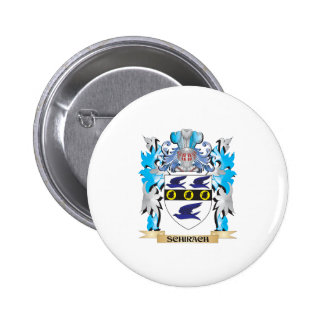 Schirach Coat of Arms - Family Crest Pinback Button