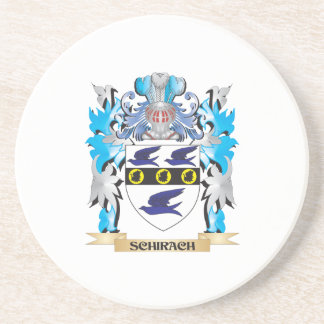 Schirach Coat of Arms - Family Crest Beverage Coasters