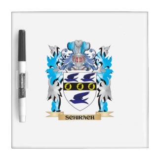 Schirach Coat of Arms - Family Crest Dry-Erase Whiteboard