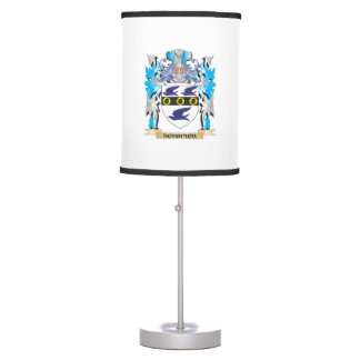 Schirach Coat of Arms - Family Crest Desk Lamps