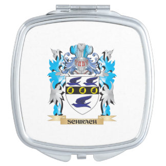 Schirach Coat of Arms - Family Crest Travel Mirrors