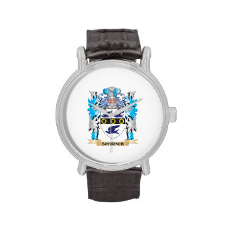 Schirach Coat of Arms - Family Crest Wristwatches