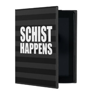 Schist Happens iPad Case