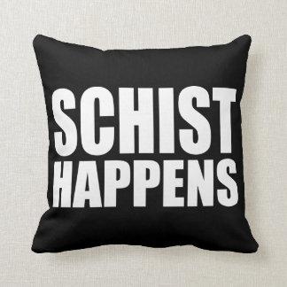 Schist Happens Throw Pillow