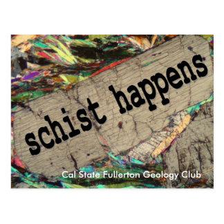 Schist Happens Postcard