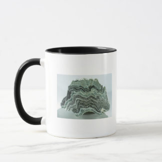 Schist rock mug