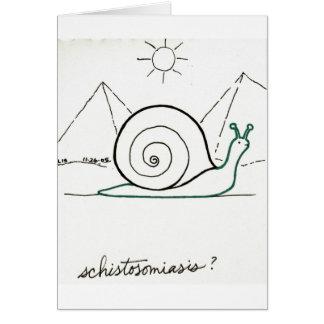 Schistosomiasis card
