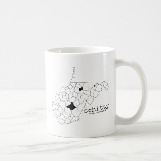 Schitty salvaje, maravilloso taza de café