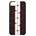 Schizm Ebony (Red) iPhone Case iPhone 5C Case