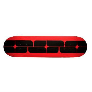 Schizm Ebony (Ruby) Skateboard Deck