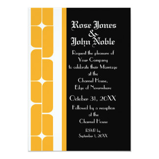 Schizm Ivory (Amber) Wedding Invitation