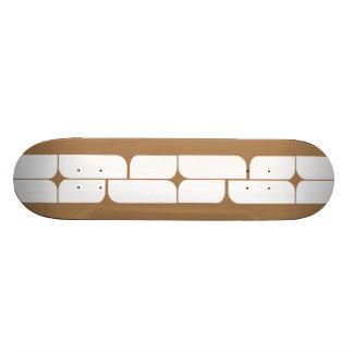 Schizm Ivory (Tan) Skateboard Deck