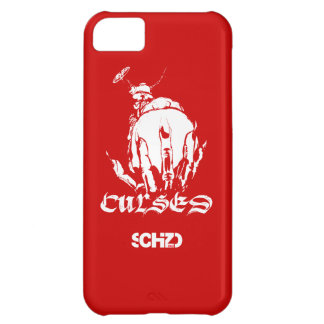 SCHiZO Curses Red Cover For iPhone 5C