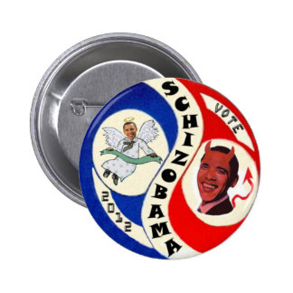 SchizObama Pinback Button