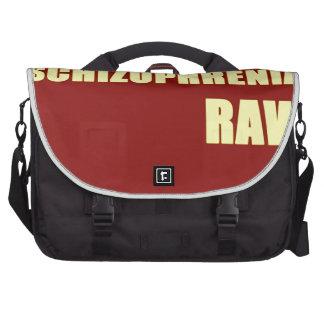 Schizophrenia Raw Computer Bag