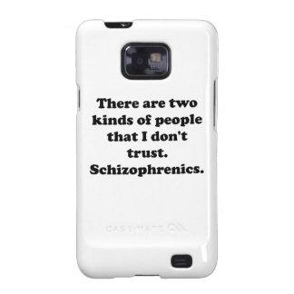 Schizophrenics Galaxy S2 Cover