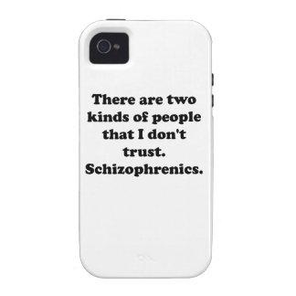 Schizophrenics Vibe iPhone 4 Cases