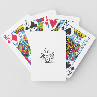 schlagzeuger more drummer bicycle playing cards