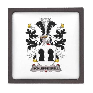 Schleppegrell Family Crest Keepsake Box