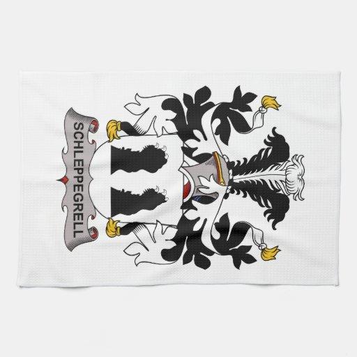 Schleppegrell Family Crest Kitchen Towel