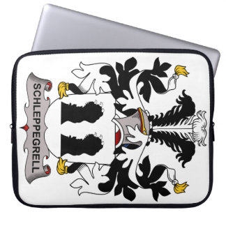 Schleppegrell Family Crest Laptop Computer Sleeve