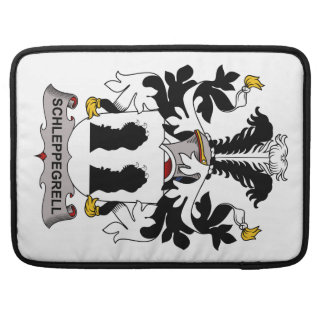 Schleppegrell Family Crest Sleeve For MacBook Pro