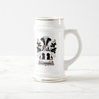 Schleppegrell Family Crest Mugs
