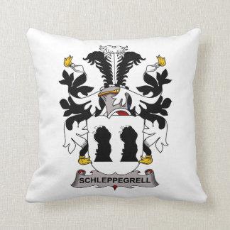 Schleppegrell Family Crest Throw Pillows