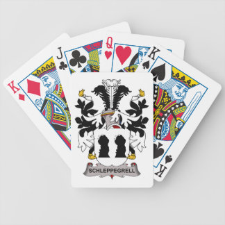 Schleppegrell Family Crest Deck Of Cards
