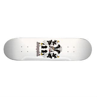 Schleppegrell Family Crest Custom Skateboard