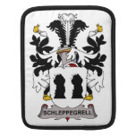Schleppegrell Family Crest Sleeve For iPads