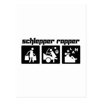 Schlepper Rapper Postcard