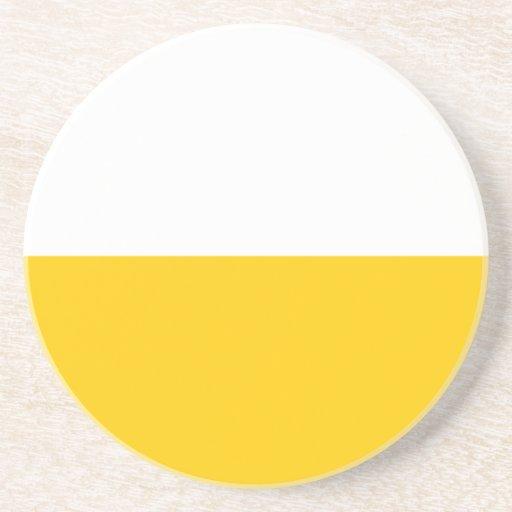 Schlesien, bandera de Prusia Posavasos Diseño