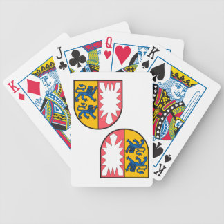 Schleswig-Holstein coat of arms Bicycle Playing Cards