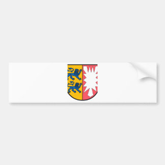 Schleswig-Holstein coat of arms Bumper Sticker